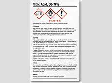 Nitric Acid GHS Labels Nitric Acid Msds
