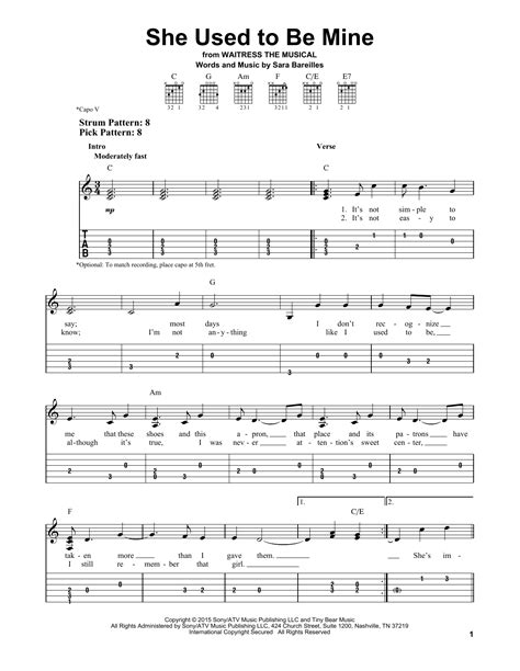 Magnificent Gravity Sara Bareilles Guitar Chords Image - Beginner ...