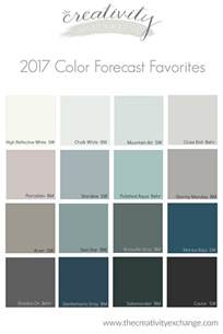 color trends for 2017 2017 paint color forecasts and trends