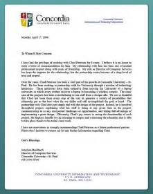 recommendation letter for admission from employer the letter sle