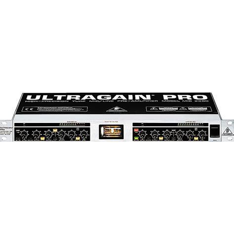 Ultragain Pro Mic2200 behringer ultragain pro mic2200 musician s friend