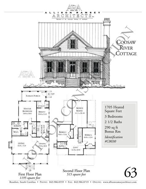 allison ramsey floor plans coosaw river cottage allison ramsey architects house