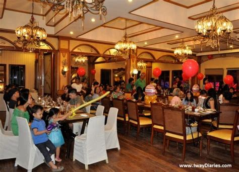 function rooms in cebu restaurants pino restaurant buffet and venue for on a budget iway diaries