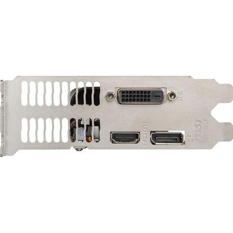 Msi Geforce Gtx1050 Ti 4gt Lp msi gtx1050 ti 4gt lp 4096mb pci e dvi hdmi dp lp
