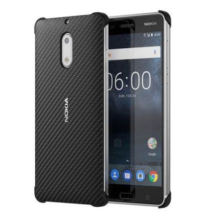 official nokia 6 carbon fibre design black