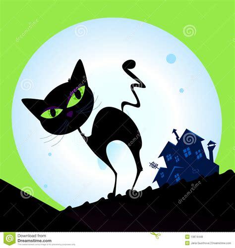 imagenes libres luna silueta fantasmag 243 rica del gato con la luna llena en fondo