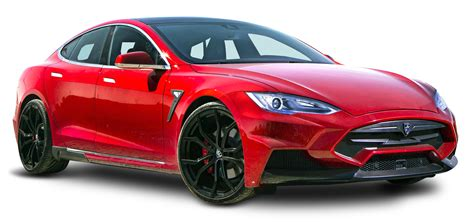 tesla png red tesla model s car png image pngpix