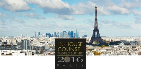 In House Counsel by In House Counsel World Summit Sommet International Des Juristes D Entreprise
