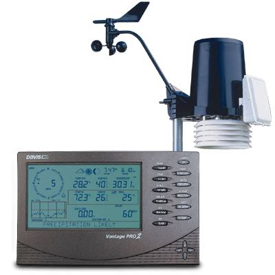 weather monitoring davis vantage pro2 weather station