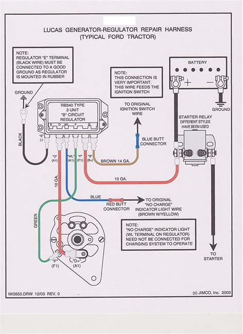 ford 9n wiring diagram 12 volt 1 wire alternator ford