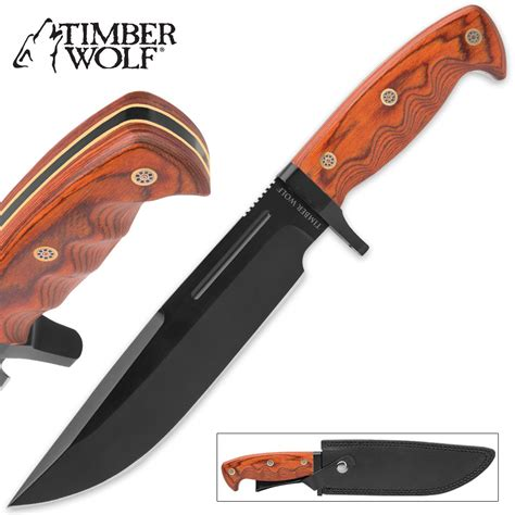 timberwolf knives timber wolf traditional bowie knife budk