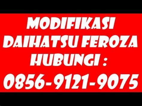 Sarung Jok Mobil Feroza 62 856 9121 9075 Modifikasi Sarung Ban Serep Mobil