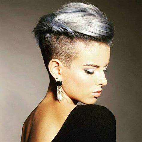 short edgy undercut hairstyles 16 edgy chic undercut hairstyles for women styles weekly