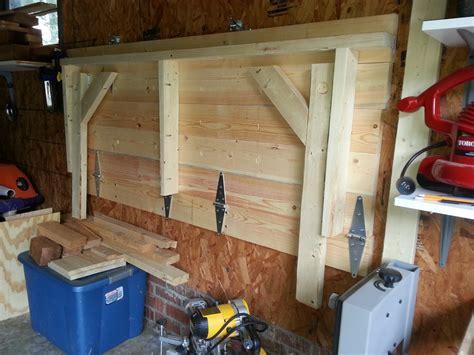 fold up work bench ana white folding garage workbench diy projects