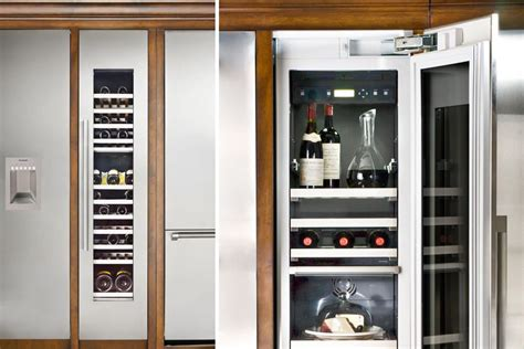 freedom wine columns by thermador custom home magazine