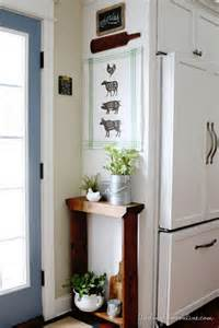 Diy Kitchen Decorating Ideas Kitchen Decorating Ideas Diy Butcher Sign Tea Towel Finding Home Farms