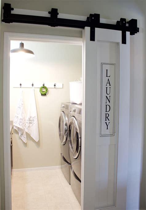 Laundry Room Barn Door A House And A Dog Barn Doors Door Laundry