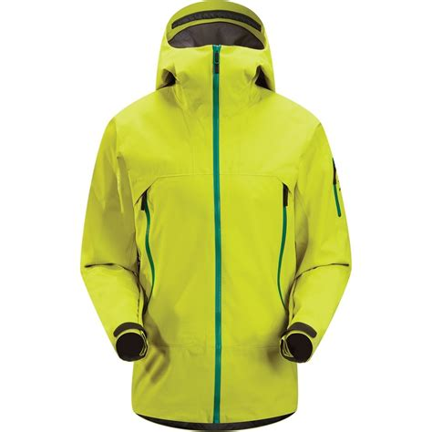 best arcteryx jacket for skiing arc teryx sabre tex shell ski jacket s