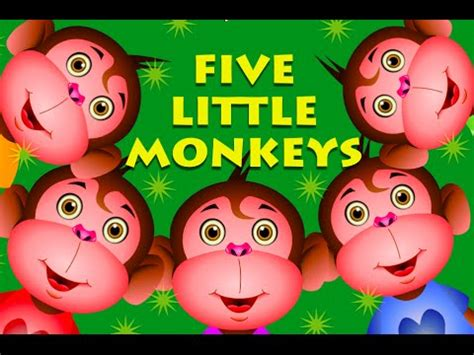 five little monkeys jumping the seven continents song silly songs funnycat tv