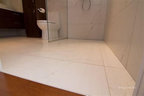 Custom linear drain   Céramiques Hugo Sanchez Inc