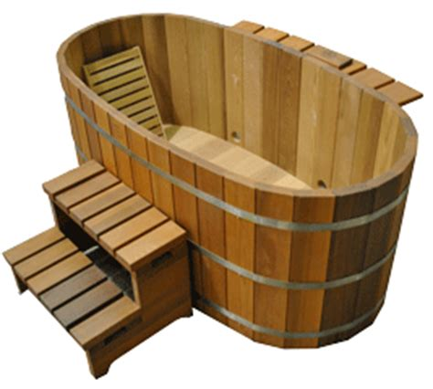 Wood Fired Bathtub Ofuro Tub