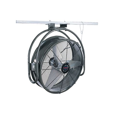 metal wall mount fan triangle fans ceiling mount fan 8200 cfm 1 4 hp 115