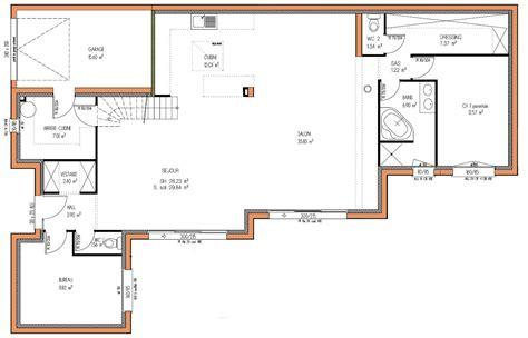 plans design cuisine plan maison design plan maison m 233 diterran 233 enne