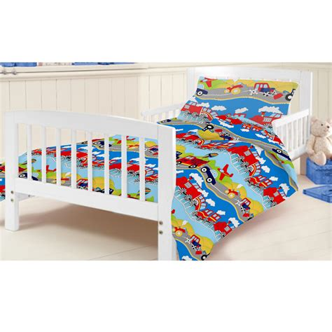 Cot Bed Duvet Sets ready steady bed children s cot bed junior duvet cover bedding set cotbed ebay