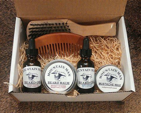 beard care gift set mountain man oils beard oil deluxe beard grooming gift set
