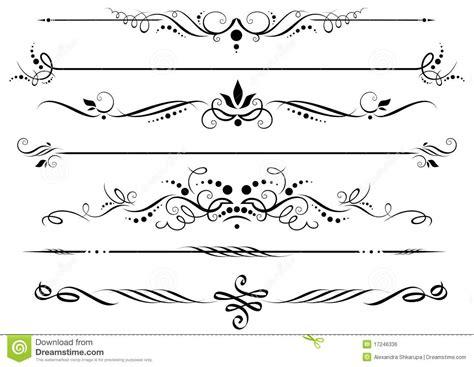 clipart bordi divisori e bordi illustrazione vettoriale immagine di