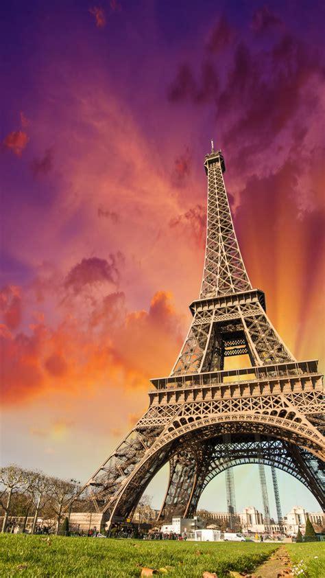wallpaper eiffel tower paris france tourism travel architecture