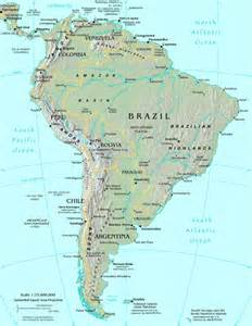 world map interactive south america