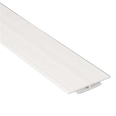 White Wall Panel Moulding Durotherm White Divider Moulding For Wall Panels At Menards 174