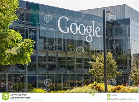 where is google headquarters located google headquarters editorial photography image 57500562