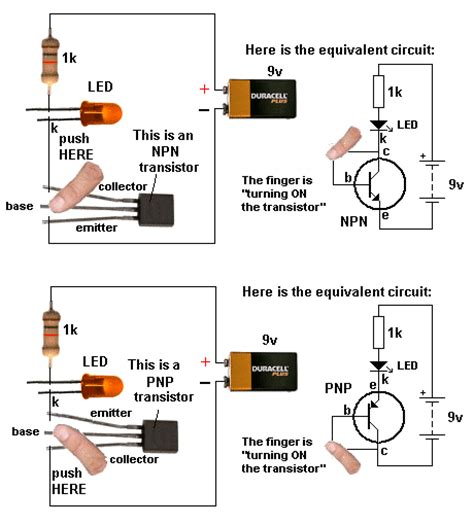 transistor npn and pnp pdf this is a circuit that explains on how to build a npn or pnp transistor tester this is useful