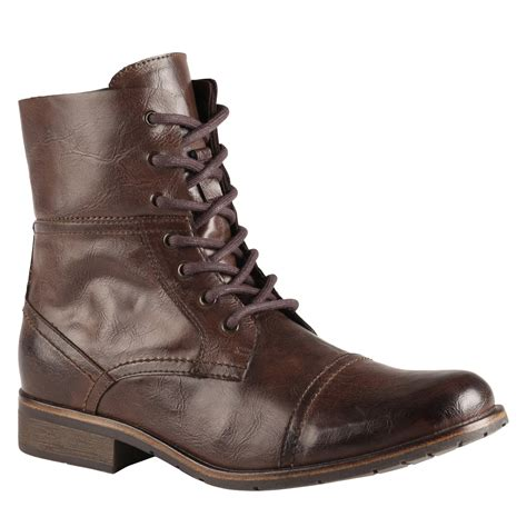 aldo brown boots aldo ezio in brown for brown lyst