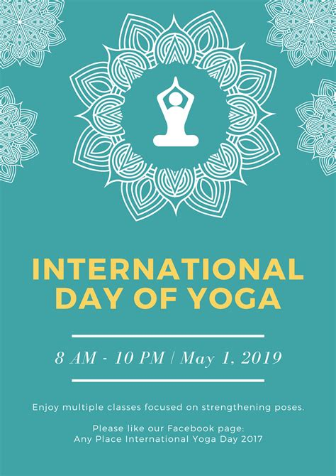 canva making poster free international day of yoga posters design a custom