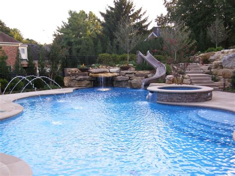 Backyard Pools Louisville Ky Swimming Pools 2012 Eclectic Pool Louisville By