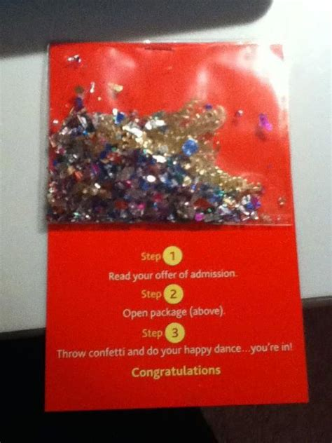 Brock Acceptance Letter Confetti What A Way To Tell They Are Approved For Their Apartment For Your Residents