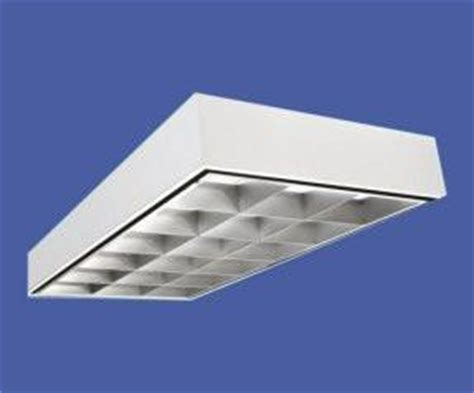 2x4 Parabolic Light Fixture 4 L T8 2x4 Parabolic Troffer 18 Cell Surface Mount Green Lighting Wholesale