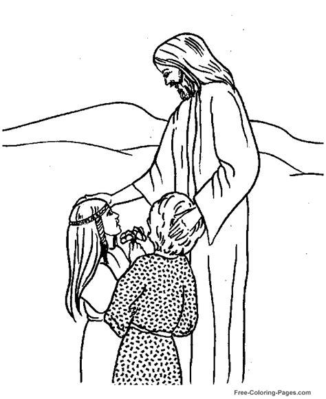 free bible coloring pages for 3 year olds jesus coloring pages