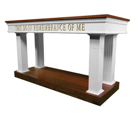 Communion Table by 8405 8400 Series Open Communion Table