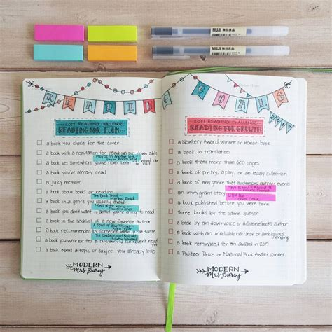 bullet journal book keep track of books to read in your bullet journal zen