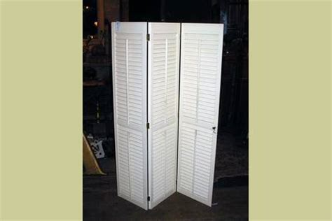 Trifold Closet Doors by Pair Of Tri Fold Interior Window Shutters 48 Quot High