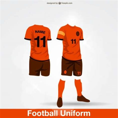 11 football uniform template psd images nike football