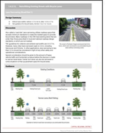 layout guidelines ethernet capital regional district regional pedestrian cycling