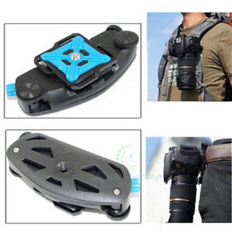 fast waist backpack belt camera clip buckle mount quick