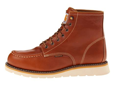 carhart boots carhartt 6 quot moc toe wedge boot zappos free shipping