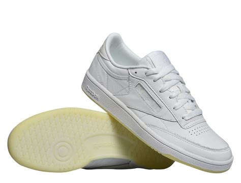 reebok club c 85 leather quot pearl white quot bs5163 bs5163