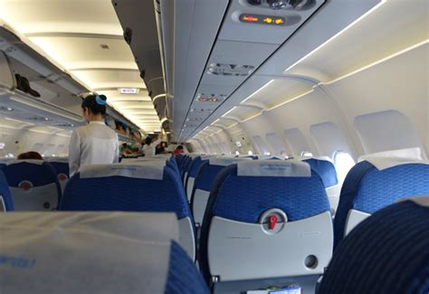Bangkok Airways Interior by Bangkok Airways Review